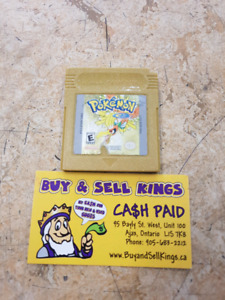 Nintendo Game boy Pokemon gold version