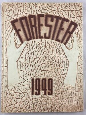 Orig Yearbook Annual 1949 Forest Avenue High School Dallas Texas The Forester