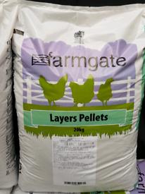 10kg half sack of Layers pellets hen food chicken feed