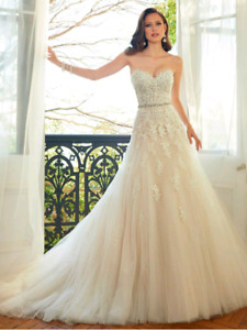 Wedding dress Sophia tolli in ivory size 2 - cleaned and wrapped