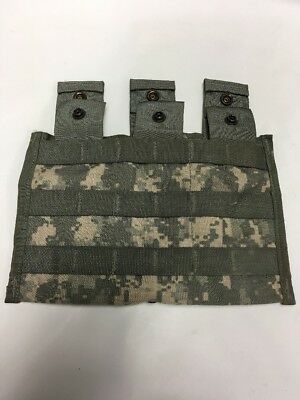 GENUINE US Military Issue ** MOLLE II** XX Magazine Pouch** ACU ** Revised/Excel