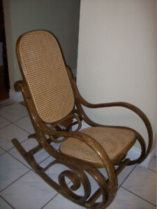 Chaise bercante -Thonet-  Bentwood rocking chair
