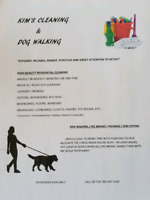 Kim's Cleaning & Dog Services