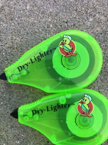 2 Pack Manco Erasable Dry lighter Green Bible Highlighter No