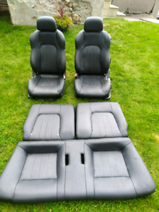 Hyundai Tiburon GT leather seats, 2002-2008 front and rear set