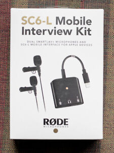 RODE SC6-L interview Package