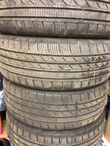 Set of winter tires. Icepluse s210.