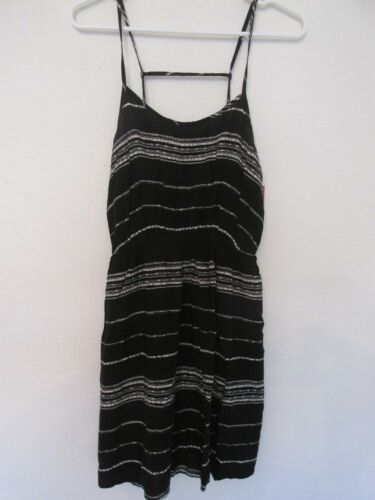 New Mossimo Layered Little Black Sleeveless Dress Sz M Medium