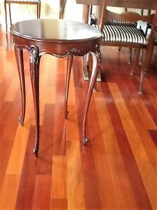 Victorian mahogany accent table