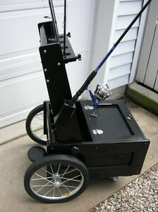 TAKE APART FISHING CART - EASILY FITS IN YOUR VEHICLE