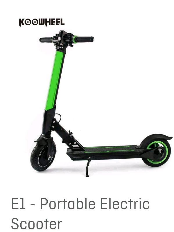 e4d676bd KOOWHEEL E1 Portable Electric Scooter, cheaper than Xiaomi m365 ...
