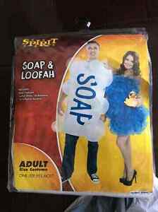 Soap and Loofah Halloween Costumes