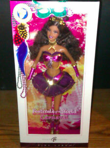 CARNIVAL BARBIE 2005 FESTIVALS OF THE WORLD NEW IN BOX