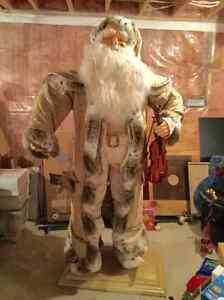 Life Size Santa Claus statue decoration