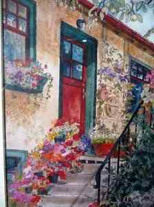 """Art Studio Colors by Imke Pearson """"The Red Door"""" 1980's Stratford Kitchener Area image 3"""