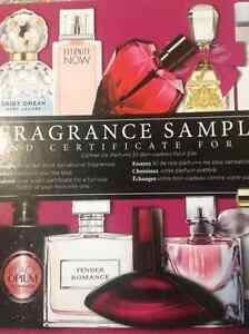 Perfume Sampler (Marc Jacobs, Ralph Lauren etc)