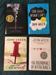 John Green (hardcover) box set - EXCELLENT CONDITION