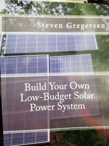 Build your own Low-Budget Solar Power System book