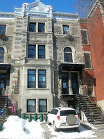 Westmount apt. in a  magnificent stone house available now