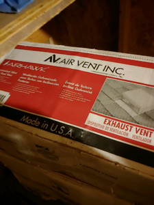 Roof vents / underlayment / step flashings