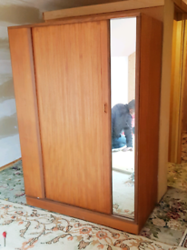 Retro Wardrobe - dismantled