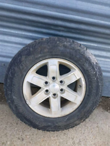 """17"""" Geolander tires and rims"""
