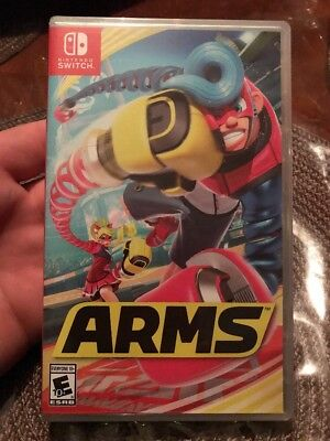 Arms For The Nintendo Switch  Brand New