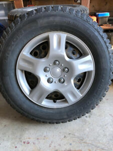 Studded Winter Tires 16''