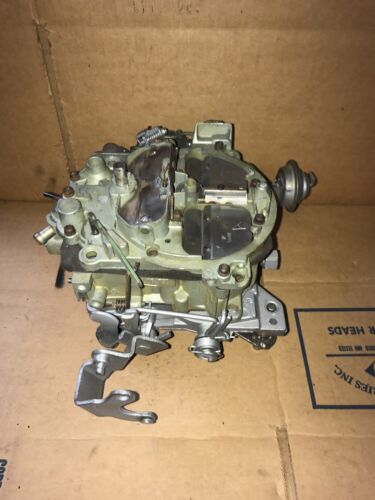 1985 - 1986 Chevy GMC Truck 262 CID 4.3L M/T 4BBL Rochester Carburetor 17085210