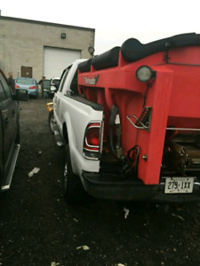 F250 PLOW TRUCK WITH SALTER