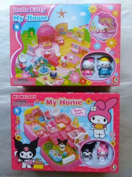 My home Playset (hello kitty set or My Melody set)