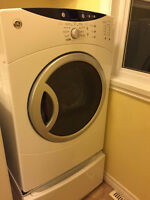 SOLD - GE Front Loading Dryer - White
