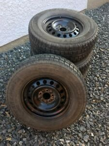 4 x Cooper Discover M+S Snow Tires