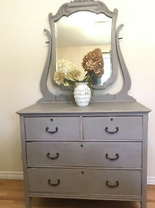 Beautiful Antique Dresser/ Cabinet