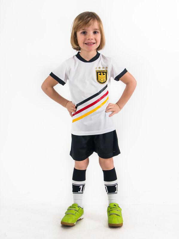 Geschenk Trikot Set Deutschland 4 Sterne Kinder 98 170 Wunschname Fußball