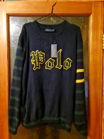 Polo ralph lauren sweater blue navy