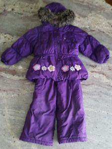 Purple Snowsuit - 3X