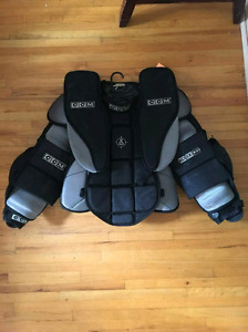 CCM goalie chest protector