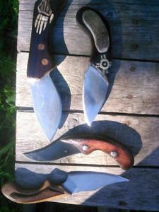 Handmade Skinning Knives