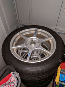 BMW snow tires and rims