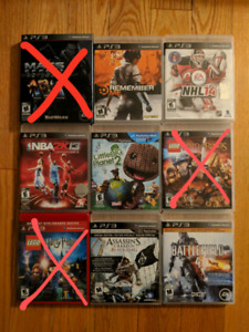Sony PS3 Games - USED