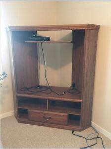 Corner TV stand - $50 OBO