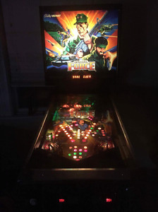 BALLY MIDWAY SPECIAL FORCE PINBALL 4 PLAYER MULTl