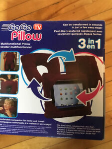 3 in 1 pillow (tablet/travel pillow)