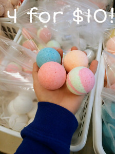 Bath bombs!