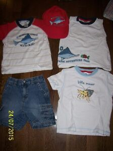 Gymboree 'Salt Washed' Set, Boys 18-24 months & 2T
