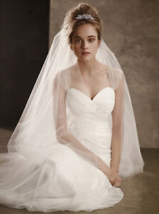 Vera Wang White collection Wedding Dress, Size 2