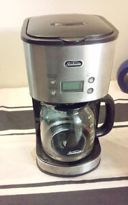 Sunbeam Stainless Steel 12- Cup Programmable Coffee Maker
