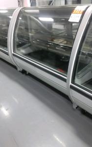 Meat Deli Cheese Case Pastry Display Cooler Open Merchandiser