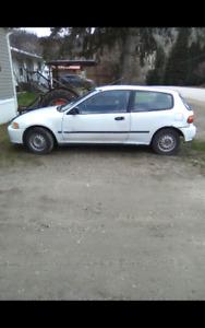 1993 Honda Civic hatchback cx